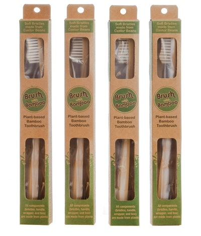 Brush With Bamboo Toothbrush