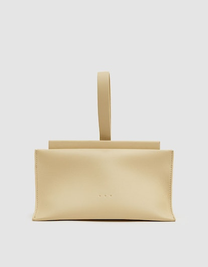 Aesther Ekme Slope Leather Clutch
