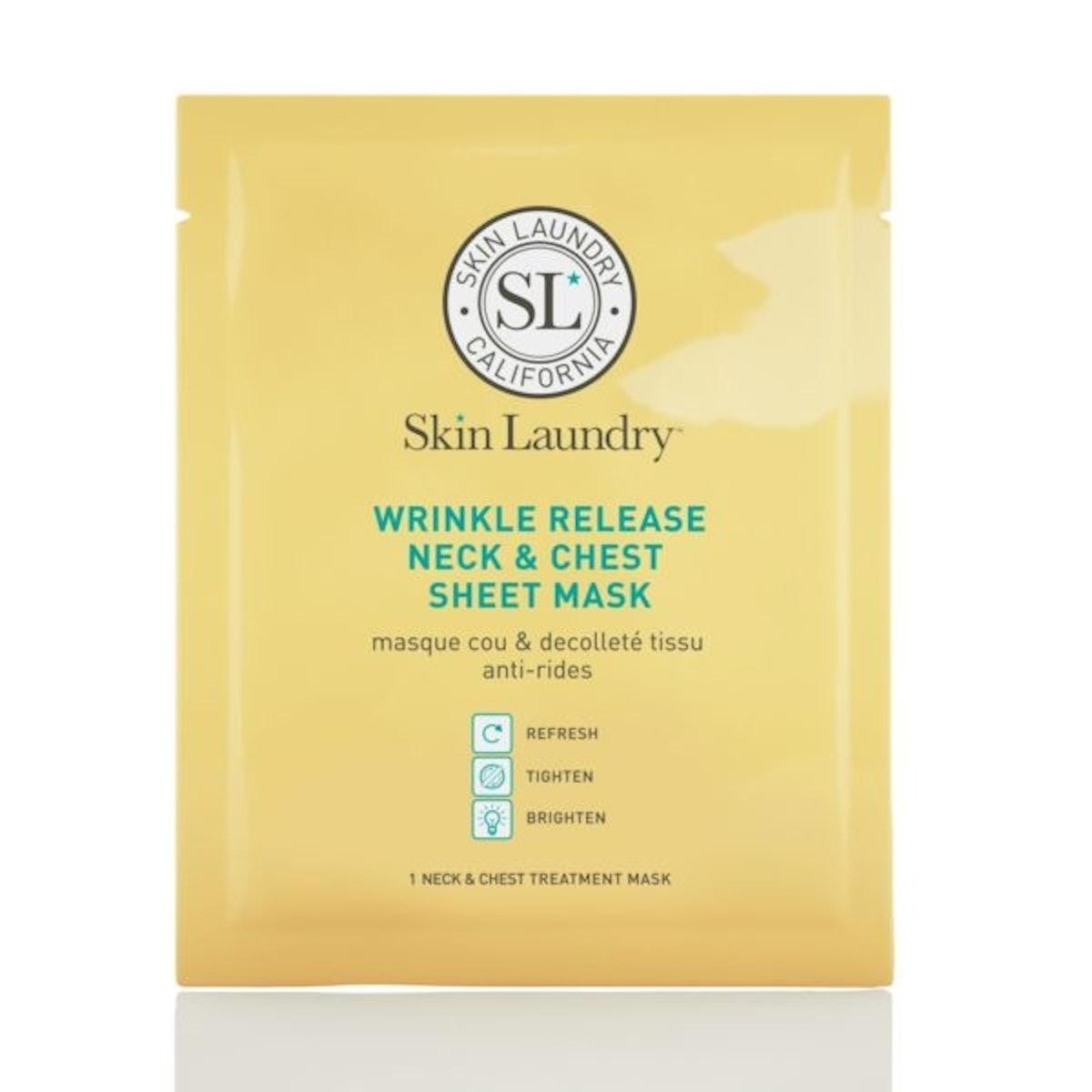 Wrinkle Release Neck & Chest Sheet Mask