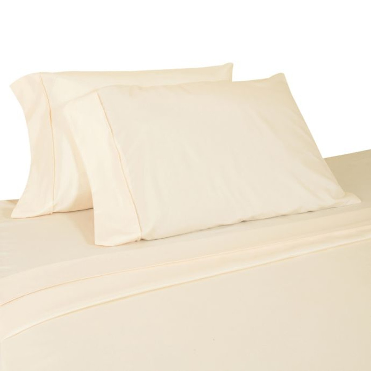 Micro Lush Microfiber Queen Sheet Set in Ivory
