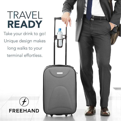 Freehand Luggage Travel Cup Holder