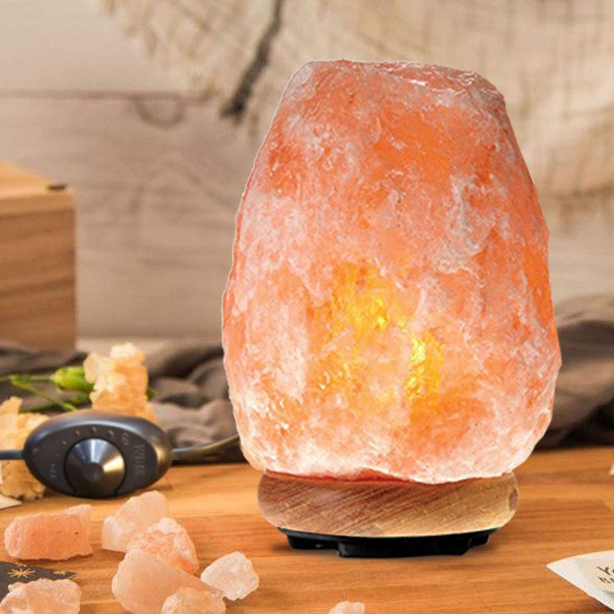 Himalayan Glow Pink Crystal Salt Lamp