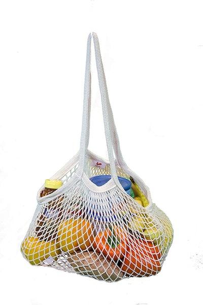 EuroSac Natural Cotton String Bag