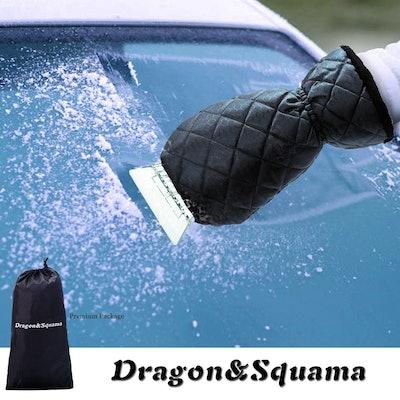 Dragon Squama Ice Scraper Mitt