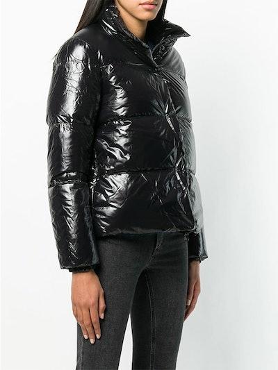 Funnel Neck Puffer Jacket