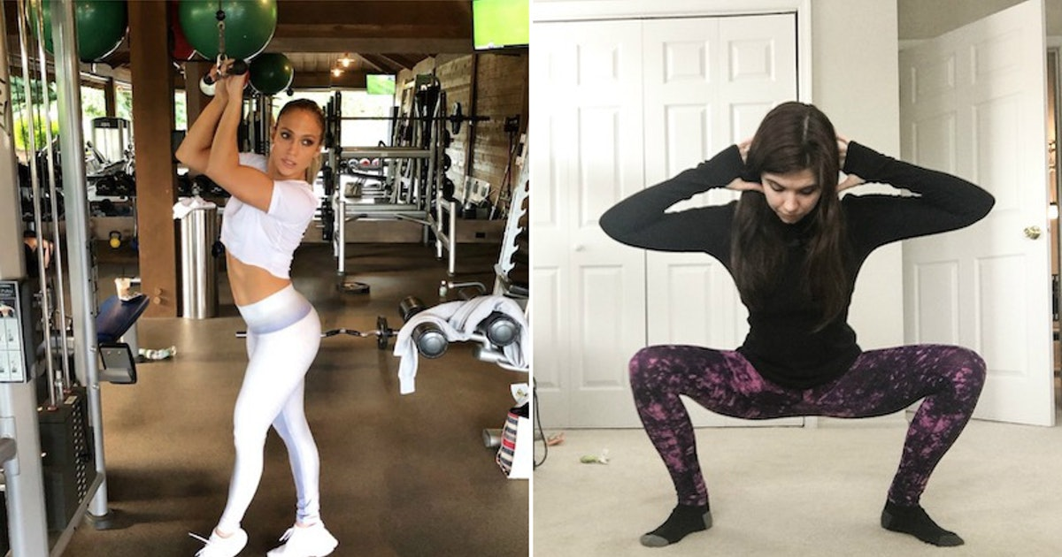 I Tried J. Lo's Booty Workout & Strengthened So Much More Than Just My Butt