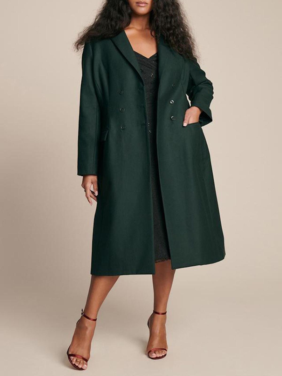 Seamed Coat