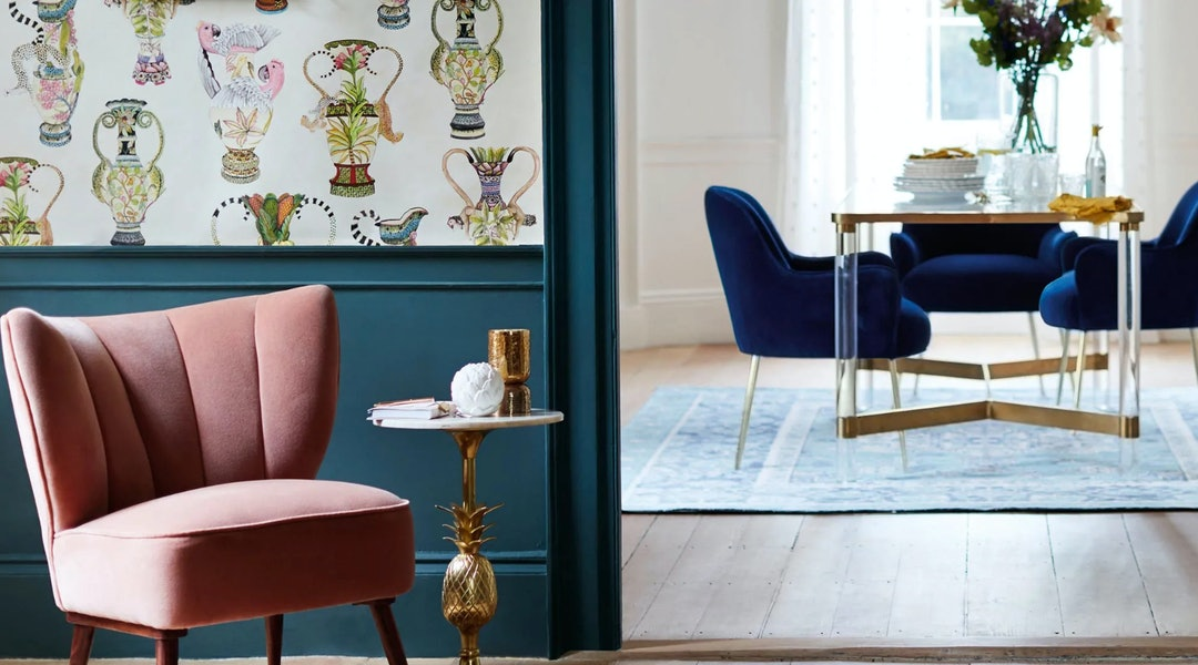 Anthropologie S Home Has So Many Cute Velvet Chairs Up To 50 Percent Off