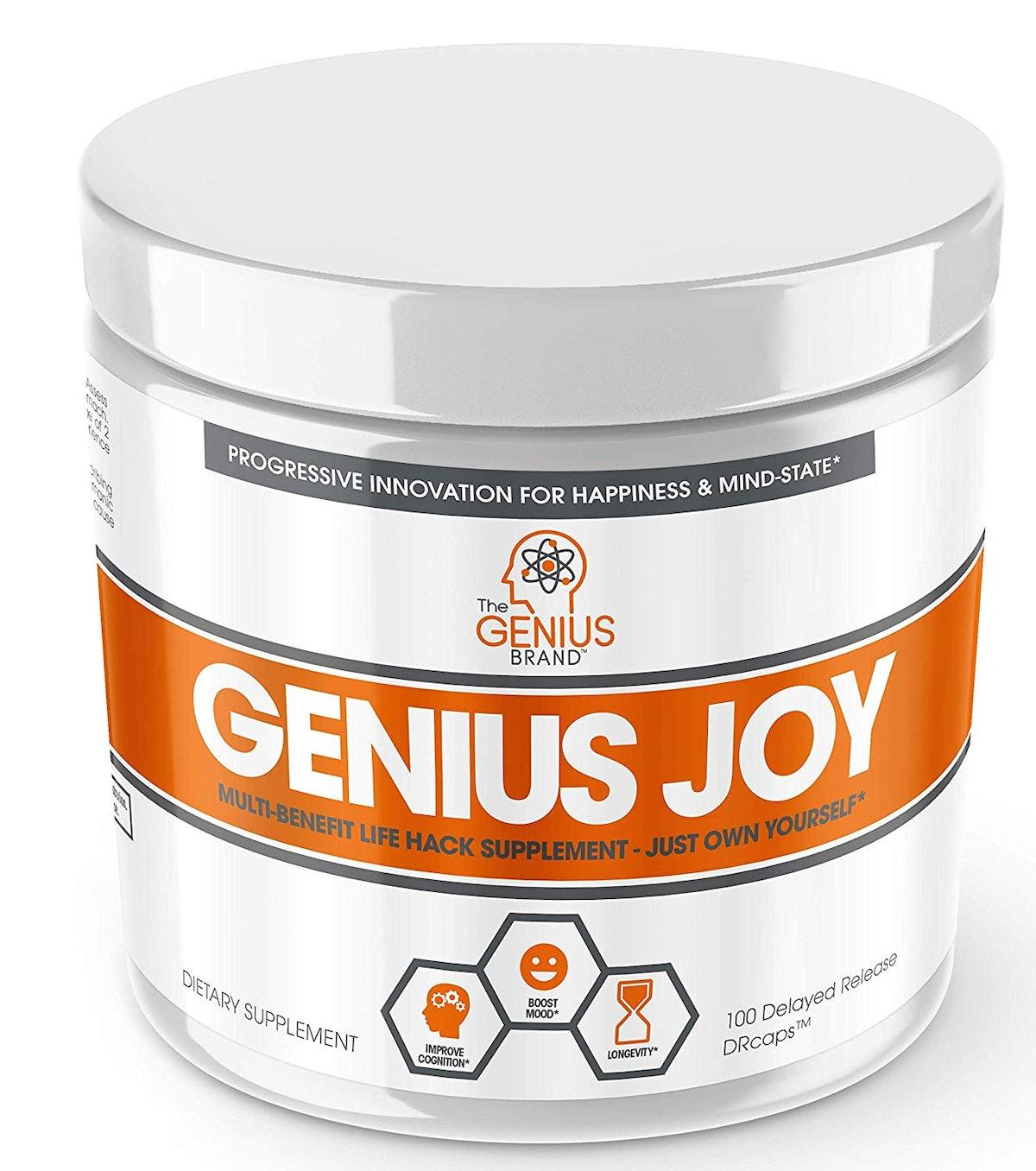 Genius Joy Serotonin Mood-Booster Supplement