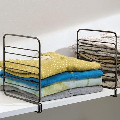 mDesign Shelf Dividers (4 Pack)