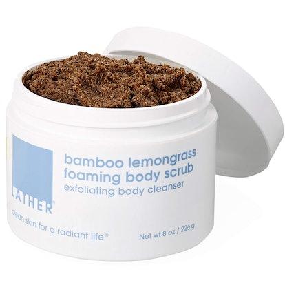 Lather Bamboo Lemongrass Foaming Body Scrub