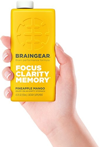 BrainGear Liquid Brain Performance Drink (Pack of 3)