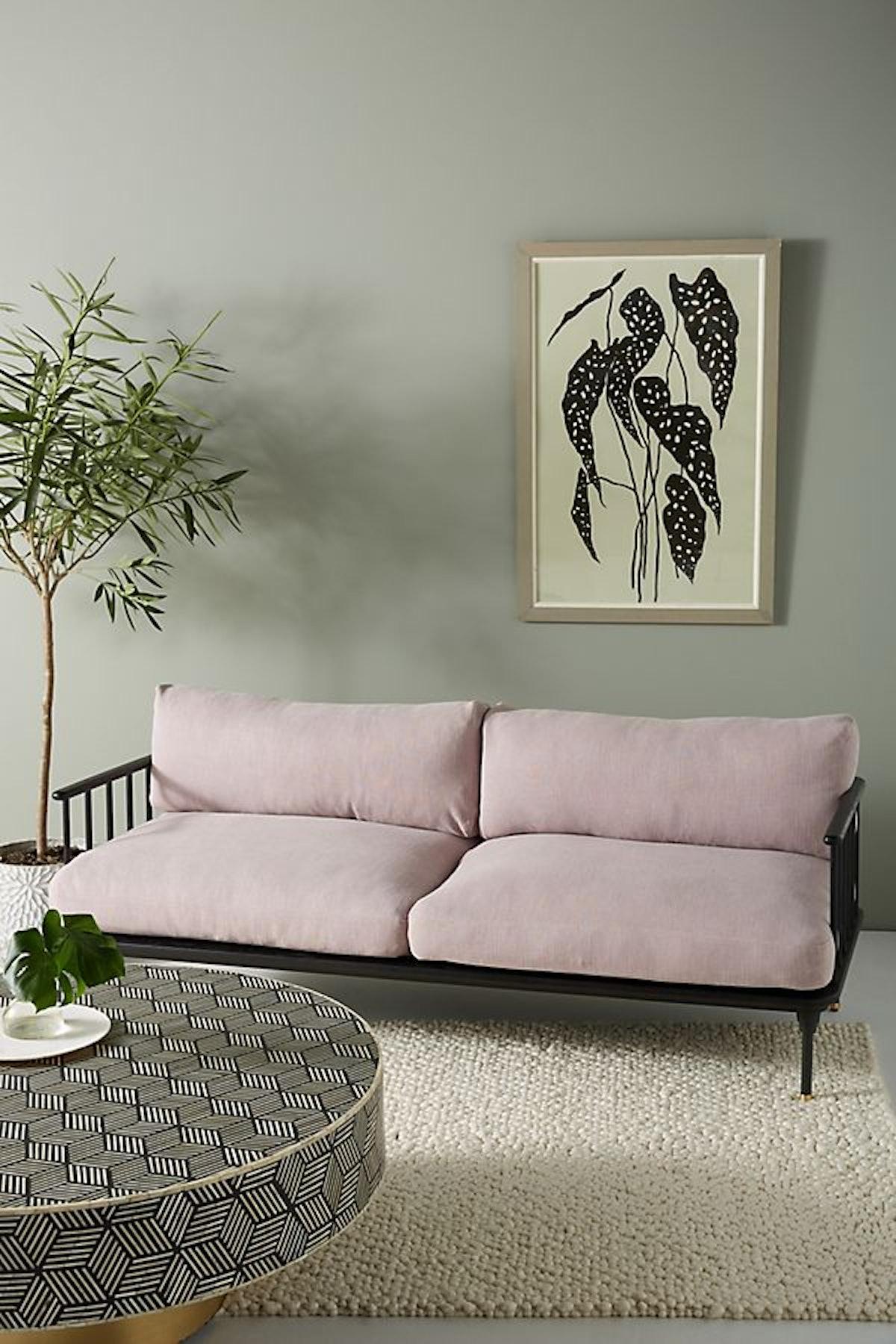Kalmar Sofa, Lavender