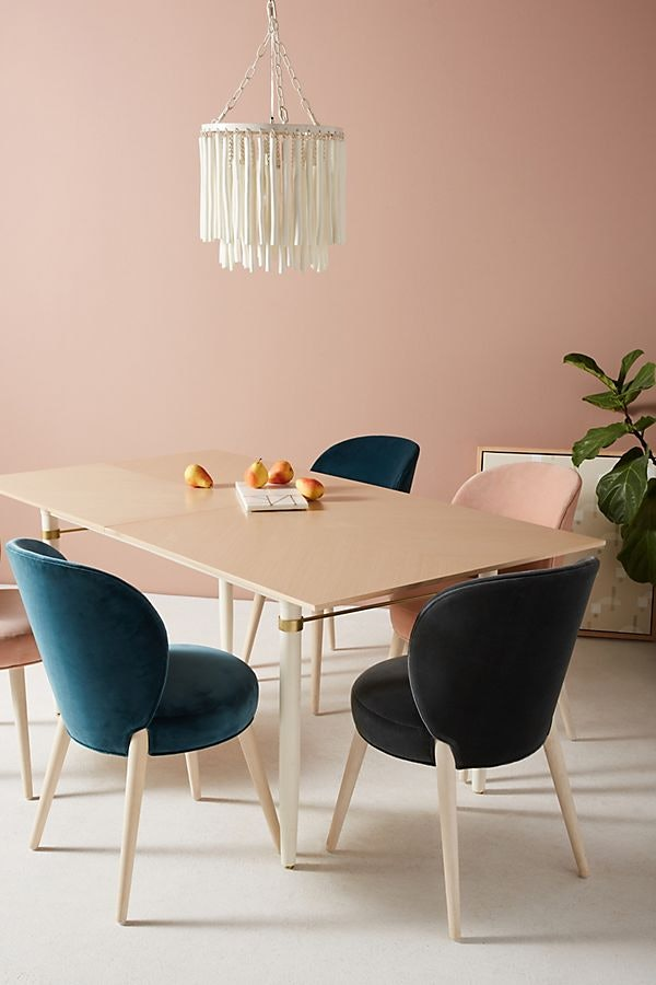 Anthropologie S Home Sale Has So Many Cute Velvet Chairs Up To 50