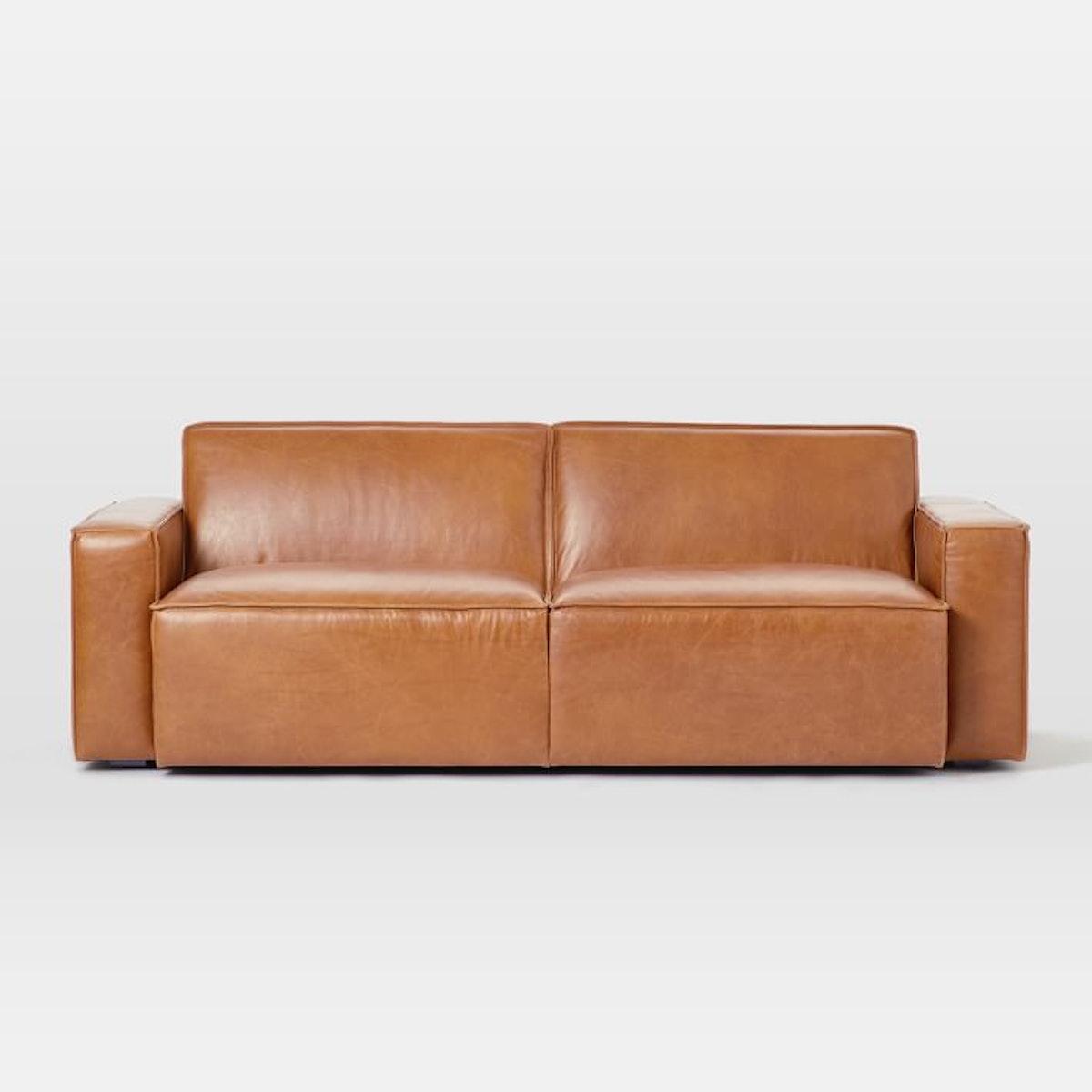 """Sedona Leather Sofa (82"""")"""