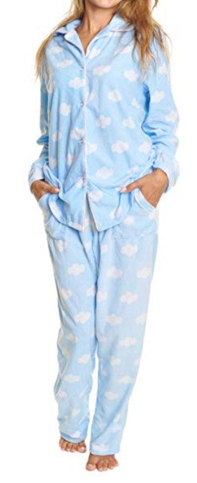 Angelina Cozy Fleece Pyjama Set
