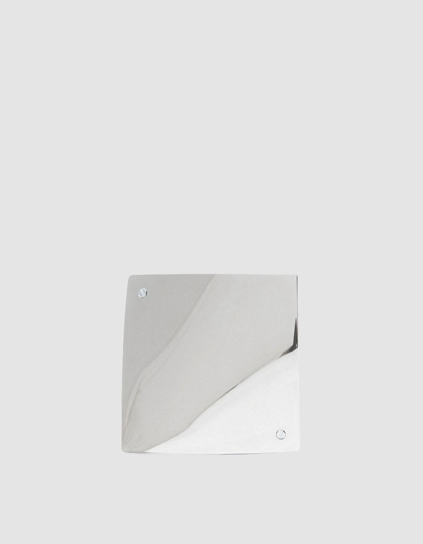 Silver Barrette 084