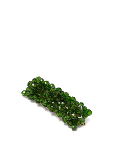 Cleo Bead-Embellished Hair Clip (