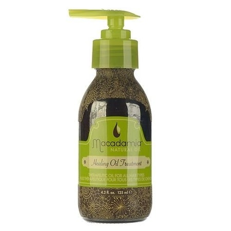 5- Macadamia Oil Natural Oil Healing Oil Treatment زيت لعلاج الشعر المجعد