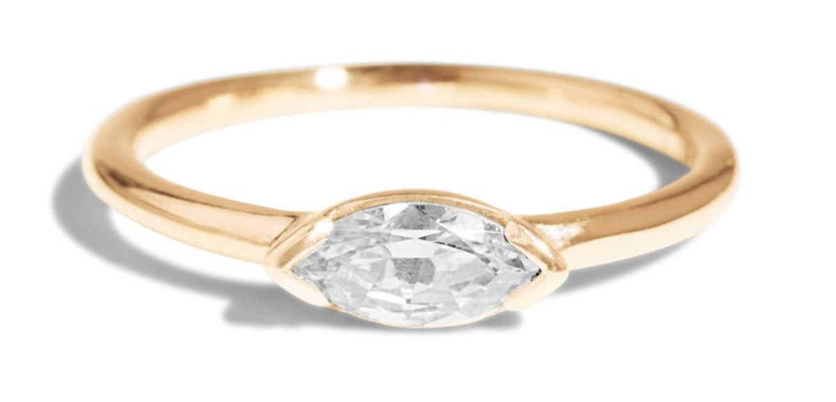Nikko Diamond Marquise Ring