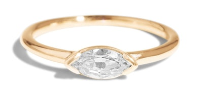 Nikko Diamond Marquise Ring