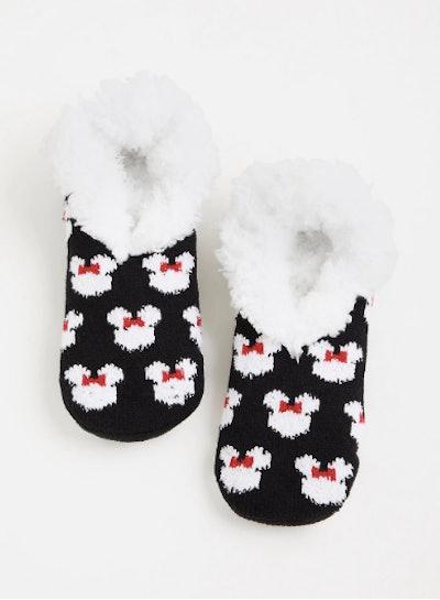 Disney Minnie Mouse Slipper Socks