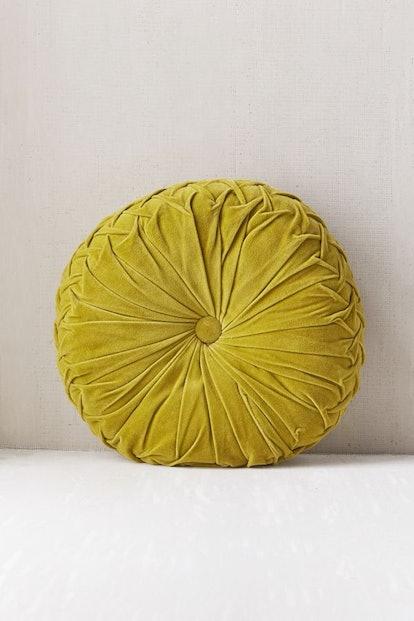 Round Pintuck Pillow