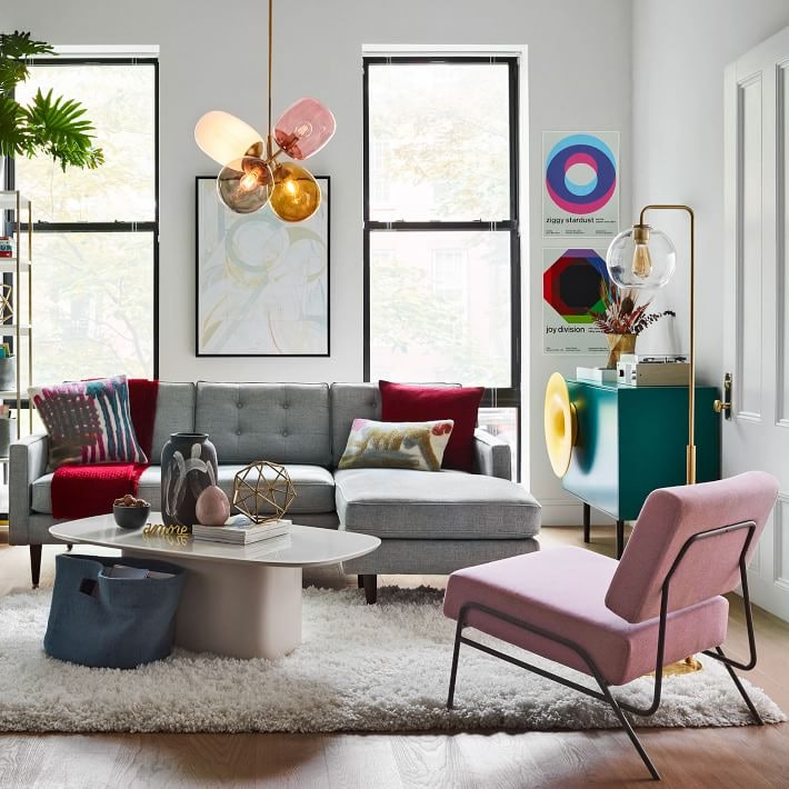West Elm S Clearance Sale Features A Leather Sofa Other Sleek
