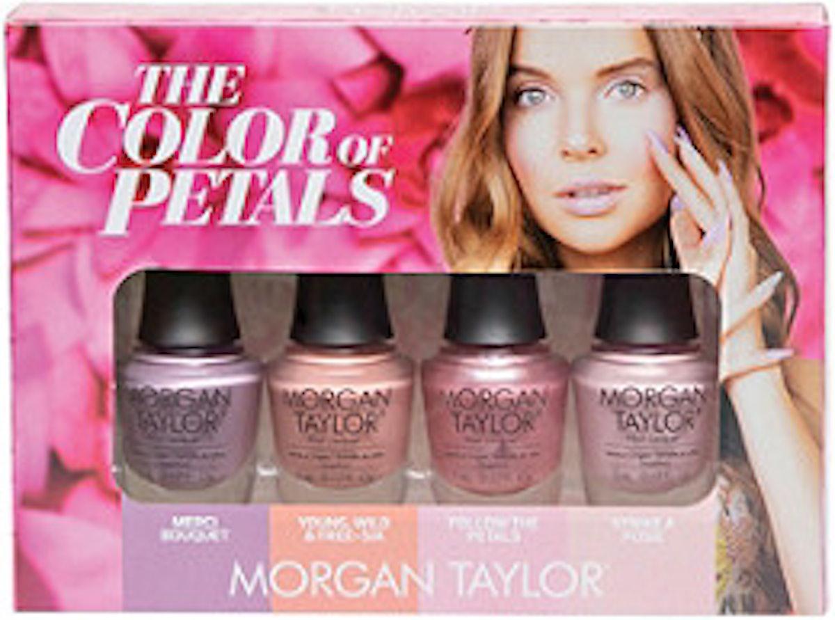 Morgan Taylor The Color Of Petals Mini 4-Pack