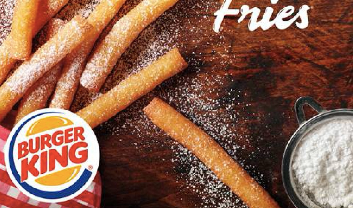 Burger King's New Funnel Cake Fries Are Your Childhood Dream Come True