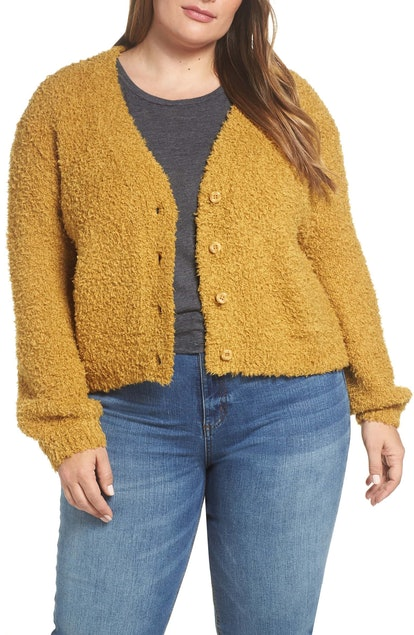 BP. Fluffy Cardigan