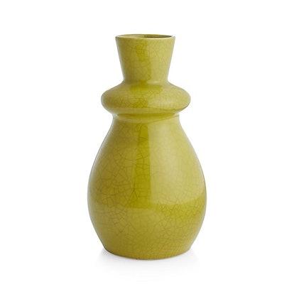 Mireya Lime Green Vase