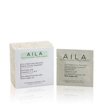 3-in-1 Soy-based Nail Color Remover Wipes