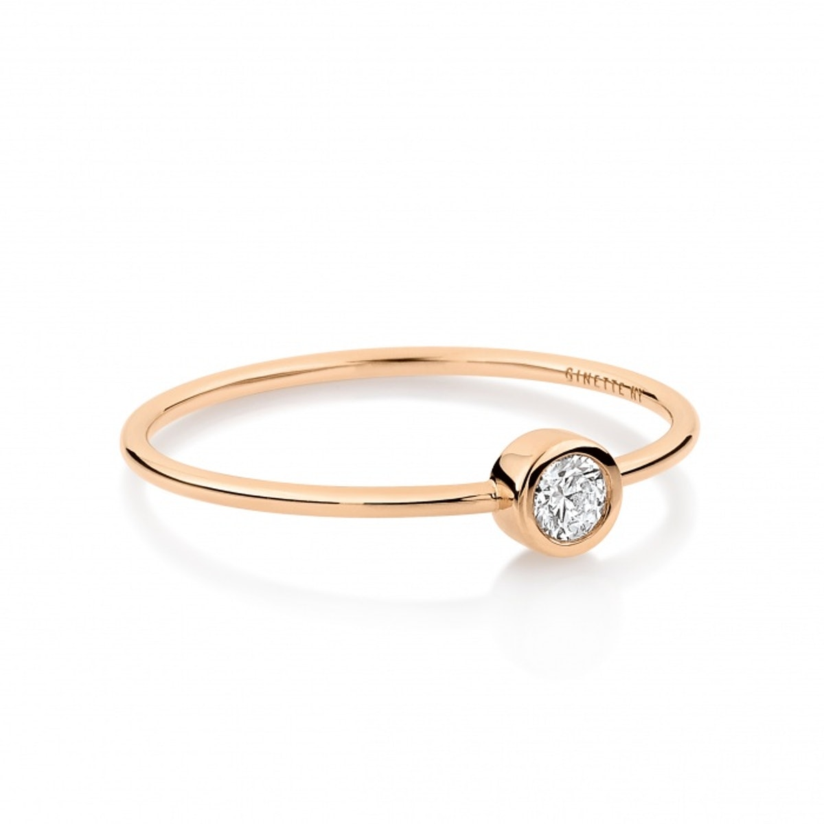 Medium Lonely Diamond Ring