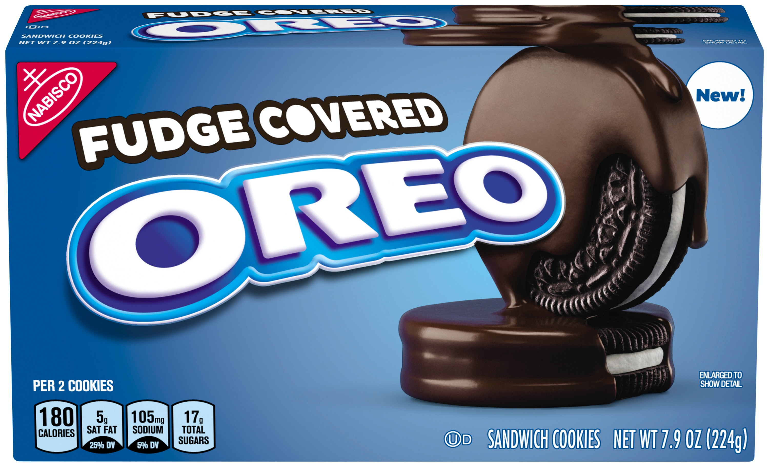These New Oreo Fudge Covered Cookies Are A Seriously