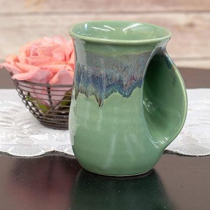 Clay In Motion Handwarmer Mug