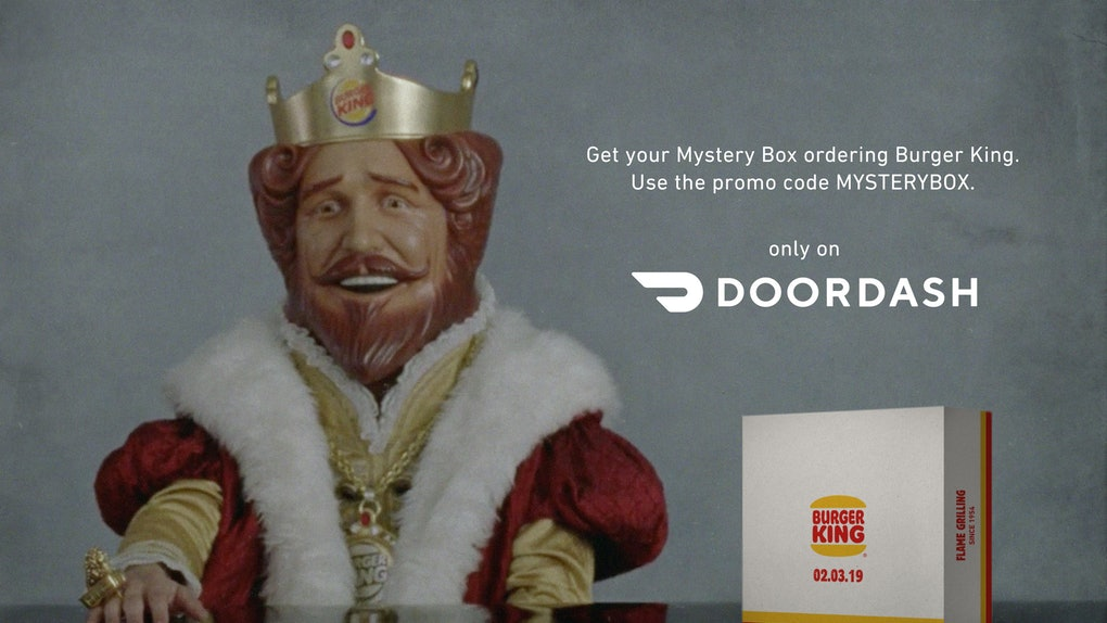 Mystery Box Burger King