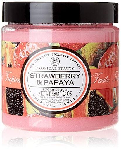 Asquith & Somerset Strawberry & Papaya Sugar Scrub