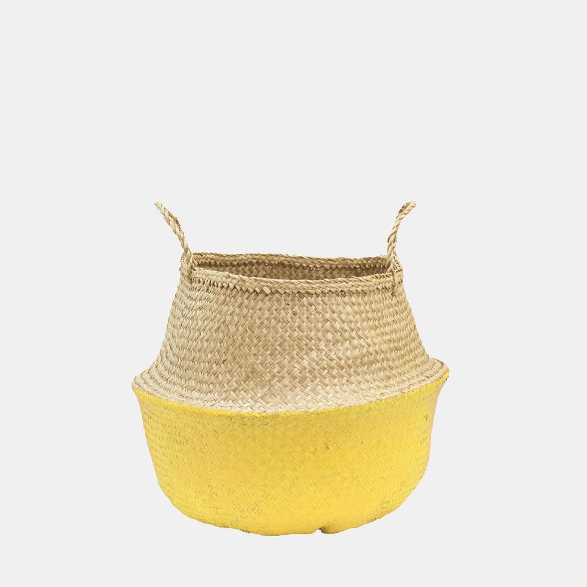 Yellow Dipped Belly Basket