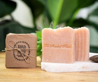 The Shaded Peach Himalayan Salt Soap