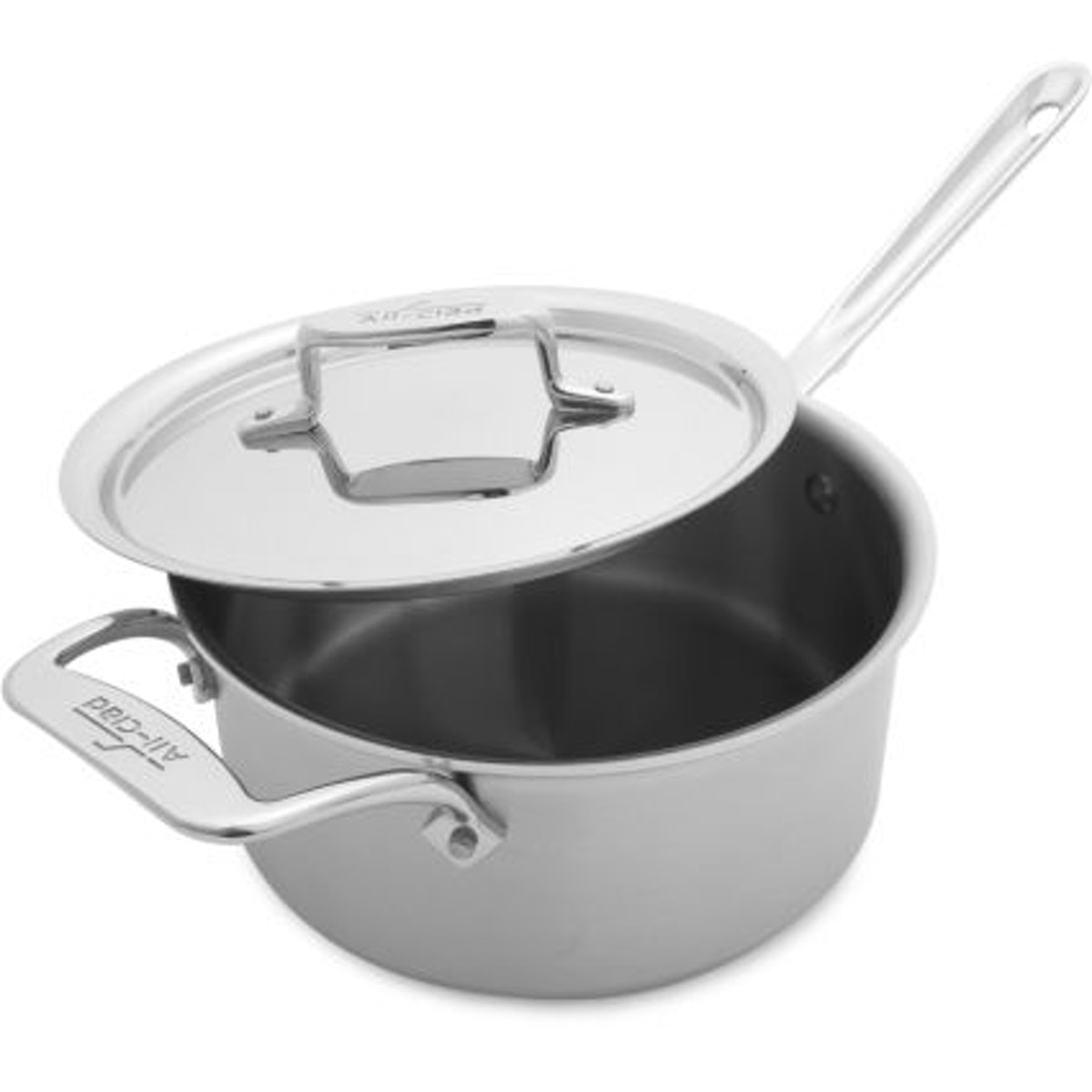 All-Clad d5 Brushed Stainless Steel Three Quart Saucepan