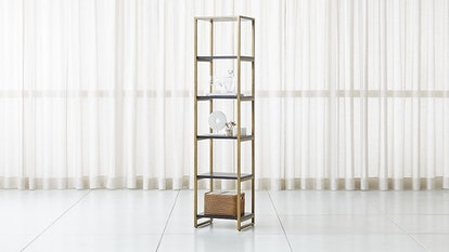 Oxford Black Wood Bookcase