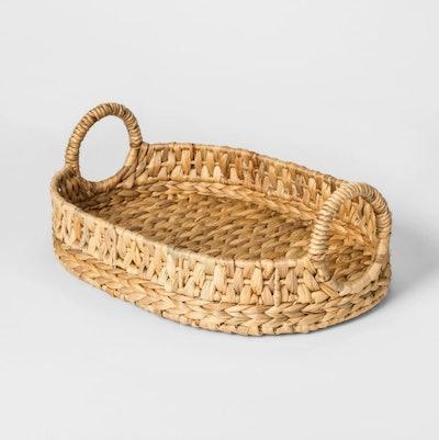 Water Hyacinth Basket Tray