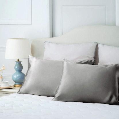 Bedsure Satin Pillowcases (2 Pack)