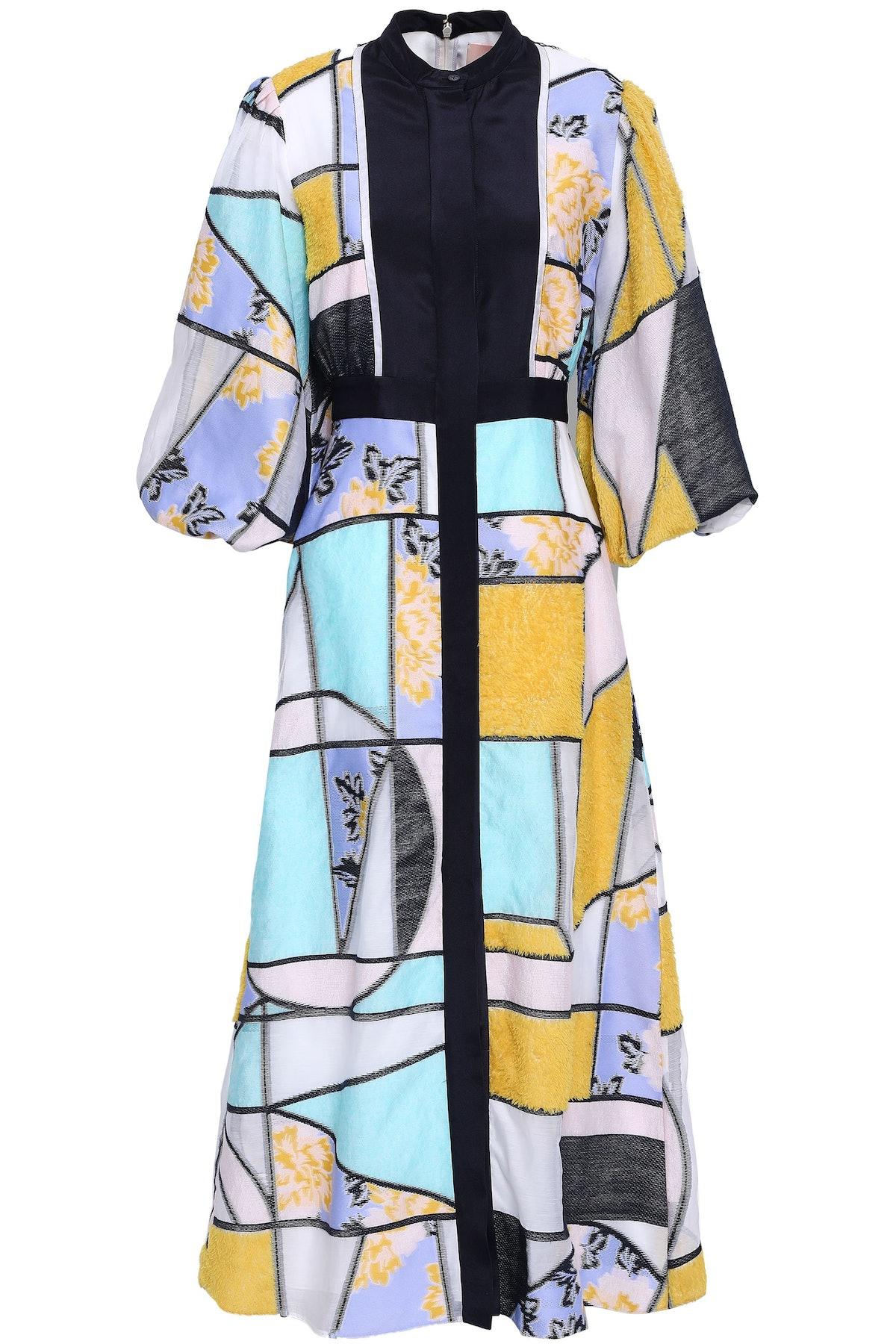 Roksanda Jacquard Maxi Dress