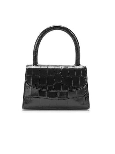 Mini Bag In Black Croco
