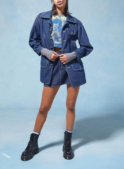 Anna Sui & UO Longline Denim Jacket
