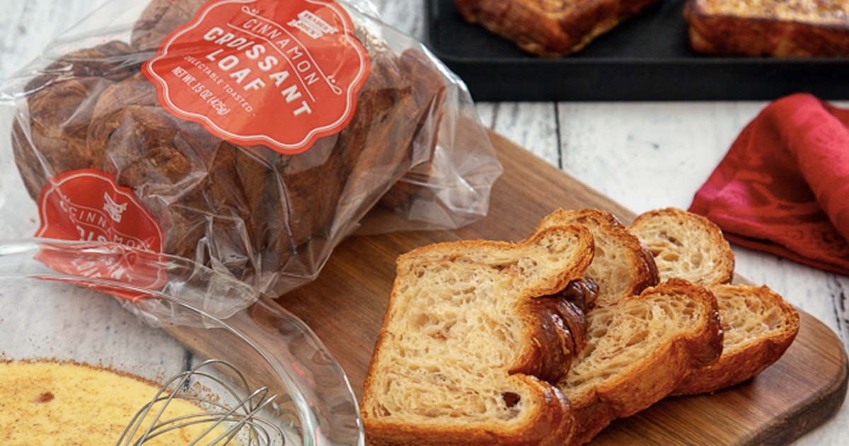A Cinnamon Croissant Loaf Just Hit Trader Joe's & It's About To Revolutionize Breakfast