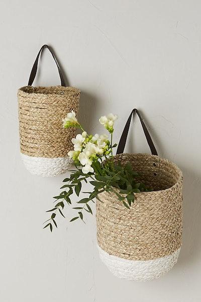 Braided Hanging Basket