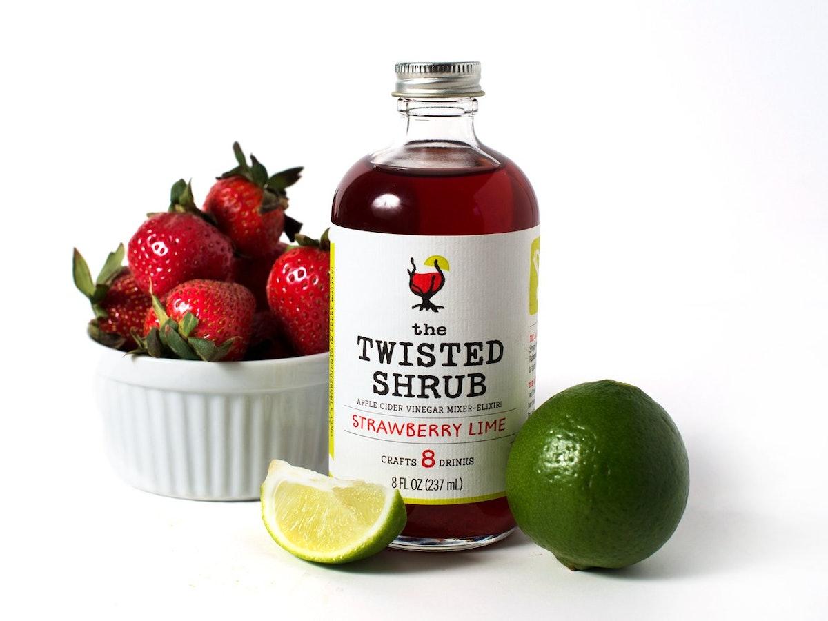 The Twisted Shrub Apple Cider Vinegar Mixer